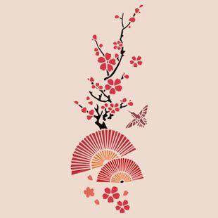 Узор на японском веере
